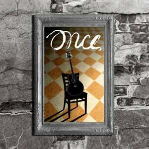 Once Musical Inspired Art Lithograph Poster Print