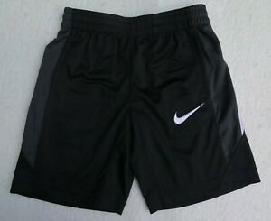 Nike Little Boys' Dri-FIT Avalanche Black Shorts - Size 7 - NWT - MSRP$24.00
