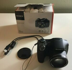 Sony Cyber-shot DSC-H300 20.1MP Digital Camera - Black 35x Zoom 3.0 LCD