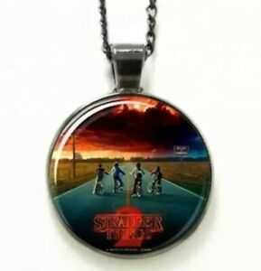 Stranger Things  pendent Necklace TV hit series season 2 jewelry