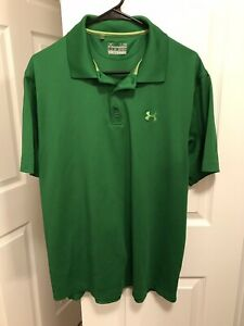 Men's Large L Under Armour Polo Loose