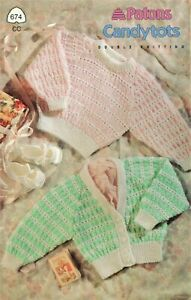 Patons Candytots Double Knitting Baby Patterns $3.98