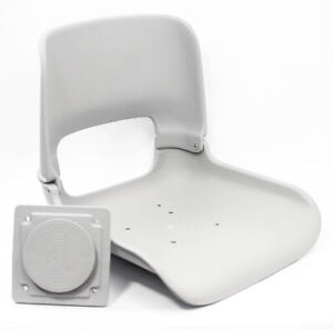 Tempress 45103 All Weather Boat Seat Shell w/ Mount Gray