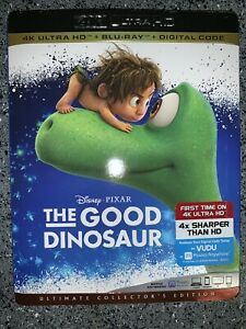 The Good Dinosaur (4K UHD + Blu-Ray + Digital) w/ Slipcover **BRAND NEW**