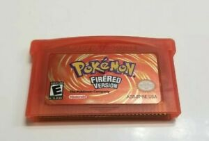 Nintendo Pokemon fire red  GBASP game boy advance FAST SHIPPING FROM USA