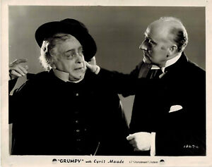 Cyril Maude GRUMPY 1930 Two Original 8x10 Stills