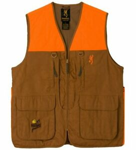 Browning Pheasants Forever Upland Vest Field Tan 3X Large 30511632