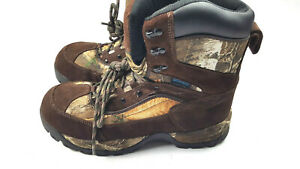 LINCOLN OUTFITTERS BROWN CAMO Hunting Boots for Men SZ 11
