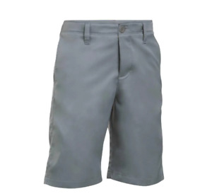 Under Armour Match Play Golf Shorts Youth Boys XL 20 Steel Gray $24.00