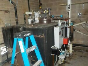 dry cleaning boiler industrial goood condition $3240.00
