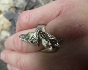 Horses Ring STERLING SILVER Zimmer Equestrian Jewelry