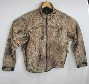 Browning Hunting Jacket Coat Outerwear Quiet Plus Camo Thinsulate XL Mossy Oak