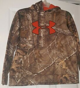 Boys YOUTH Under Armour Camo Hoodie