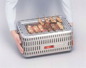 Portable Japanese Tabletop CharcoalHibachi Grill- Made in Japan
