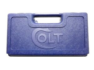 Colt Factory Blue Plastic Universal Pistol Case Box NEW