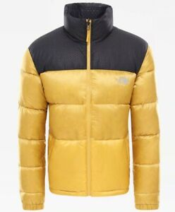 The North Face Nuptse IV Jacket Golden Spice Tnf Black 2020 Feather D' Goose 700
