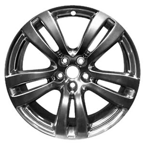 59873 Reconditioned 19X9 Alloy Front Wheel Rim Silver Full Face Painted