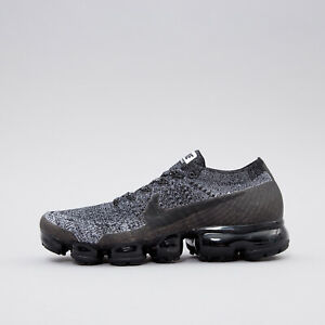 Nike Air Vapormax Flyknit Oreo Black White Racer Blue 849558-041 Men's 11 US 45
