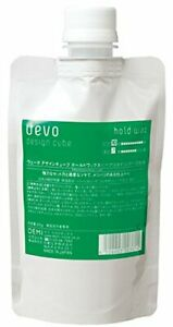 UEVO design cube hold wax 200 for refill japan
