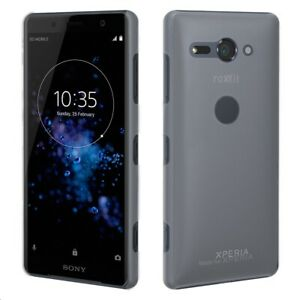 New Sony Xperia XZ2 Compact Roxfit Anti Scratch Precision Slim Shell Clear Case