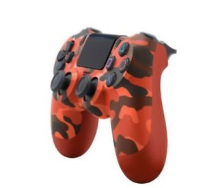 New Wireless Bluetooth Controller for Sony PlayStation PS4 - Red Camo