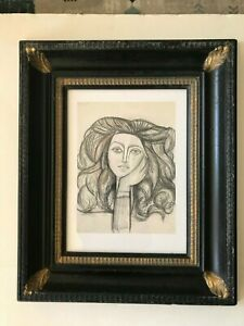 Lithograph of Woman by Pablo Picasso