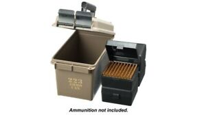 .223 Ammo Can - Holds 400 Rounds 4 Heavy Duty Boxes Ammunition Storage