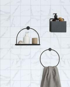 """Marble Texture Contact Paper Peel and Stick Wallpaper Self Adhesive 17.7""""×78.7"""""""