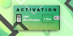 UMT BOX  DONGLE 1 Year RENEWAL Re Activation FAST