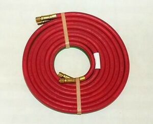 GRADE RM 12 x 3 16 TWIN WELDING TORCH HOSE A SIZE OXYGEN ACETYLENE MADE IN USA $28.00