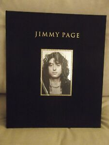 JIMMY PAGE SIGNED DELUXE GENESIS PUBLICATIONS FULL LEATHER LED ZEPPELIN