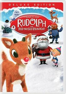 Rudolph the Red-Nosed Reindeer DVD Christmas Kids Movie Deluxe Edition Cinema TV