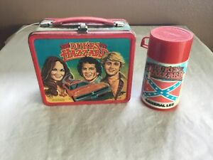 Vintage Metal Lunchbox wThermos The Dukes of Hazzard