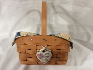 Longaberger Basket Horizon of Hope American Cancer Society 1999 with Signatures