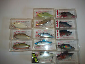 15 new Bill Lewis Rattle Trap lipless cranbait 12 oz fishing lures bass boat