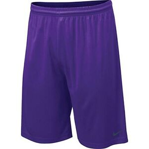 Nike Men's Team Fly Dry Fit Shorts Size XXL Purple Gray Logo New Wtags