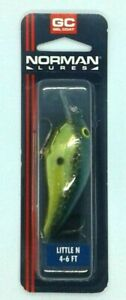 Norman Lures Little N Crankbait - Gold SX Shad