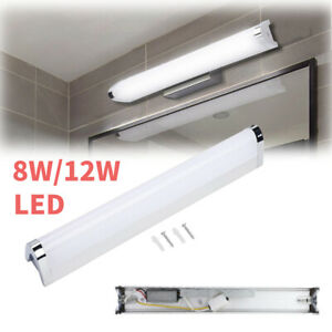 8/12W Bathroom Vanity LED Bar Light Makeup Mirror Front Lamp Toilet Wall Fixture