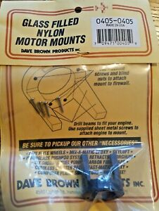 NEW Dave Brown Glass Filled Nylon RC Motor Mounts Part # 0405 $9.99
