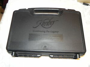 KIMBER SUPER CARRY PRO HD FACTORY HARD CASE WITH MANUAL