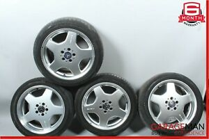 Mercedes W220 S500 CL55 AMG Sport Complete Wheel Rim 8.5 x 18 Set 220401080
