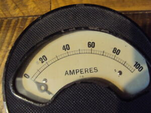 EXCEPTIONAL STEAMPUNK EARLY AMP METER $40.00