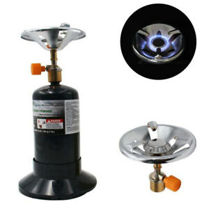 Alloy Camping Propane Stove Hiking Backpacking MAPP Gas Burners Oven Furnace