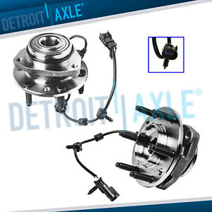 2 Front Wheel Hub Bearings Chevy Trailblazer Envoy Bravada Rainier Wheel Bearing $73.47