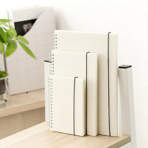 Durable Spiral Coil Notebook Lined Blank Dot Grid Paper Travel Diary Sketchbook