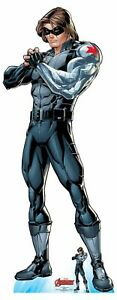 Winter Soldier Official Lifesize Marvel Avengers Cardboard Cutout with Free Mini GBP 37.29
