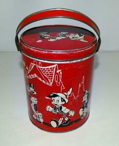 DISNEY 1940 LITHOGRAPHED TIN
