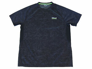 Polo Sport Ralph Lauren Black Athletic Gym Constellations Thermovent Shirt L $56.55