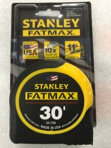 Stanley 30 ft. FATMAX® Classic Tape Measure #33-730 - NEW - FREE SHIP $21.55