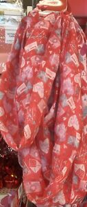 Valentine's Day Hearts & Love Letters Scarf